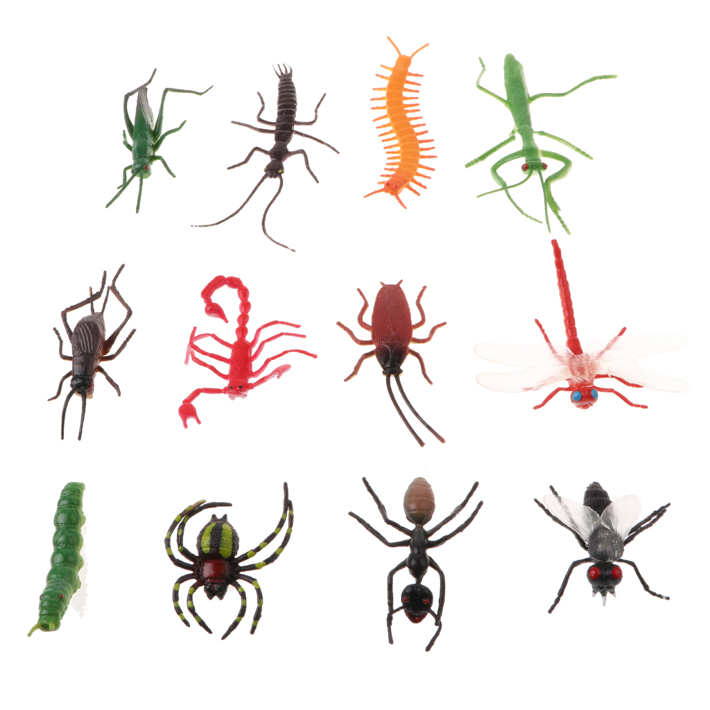 Toy Cricket Fillers Stocking Figurine Model Animal Kids Cockroach Science Insects Nature