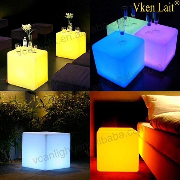 8 PCS/lot 20*20*20 cm Couleur Changeante lumière LED waterproof Cube VC-G2020 - 3
