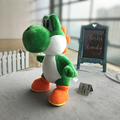 34cm Super Mario Bros Standing Yoshi Dragon Plush Dolls Toy Stuffed Soft Yoshi Peluche Doll Kids Gifts Free Shipping