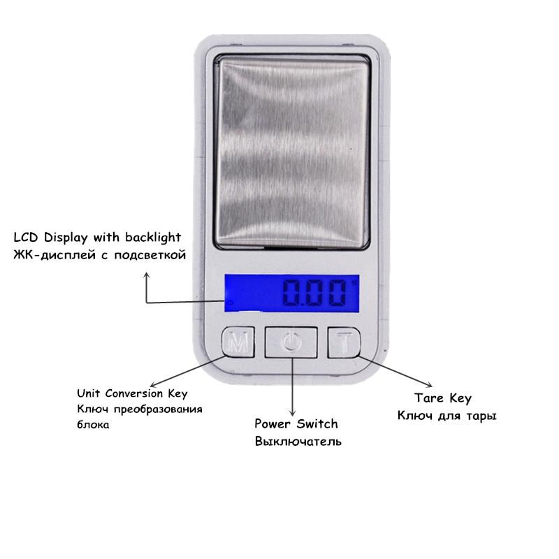 20 db legkisebb skála 200G 0,01G Mini Digital háttérvilágítás - Mérőműszerek - Fénykép 4