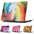 Картины маслом Цветы Стиль Защитный Футляр Shell для MacBook 12 дюймов Air 11 13 дюймов Pro 13 15 дюймов Pro Retina 13 15 дюймовый