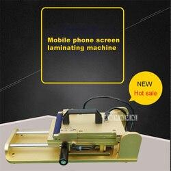 New Arrival 7 cal OCA z tworzywa sztucznego maszyna do laminowania ekran telefonu komórkowego mały rozmiar instrukcja ekran ciśnienia maszyna do laminowania na gorąco