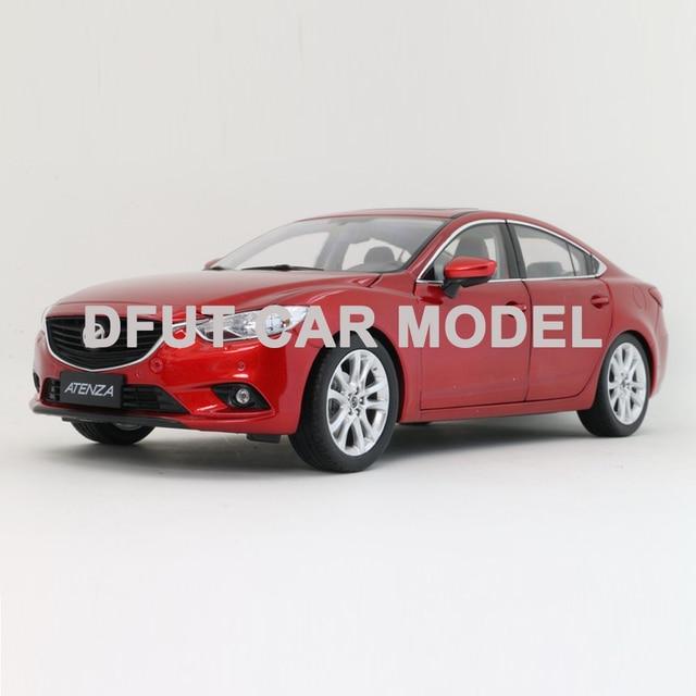 Escala 1:18 aleación 2014 ATENZA modelo de coche de coches de juguete para niños Original autorizado auténticos juguetes para la colección de niños