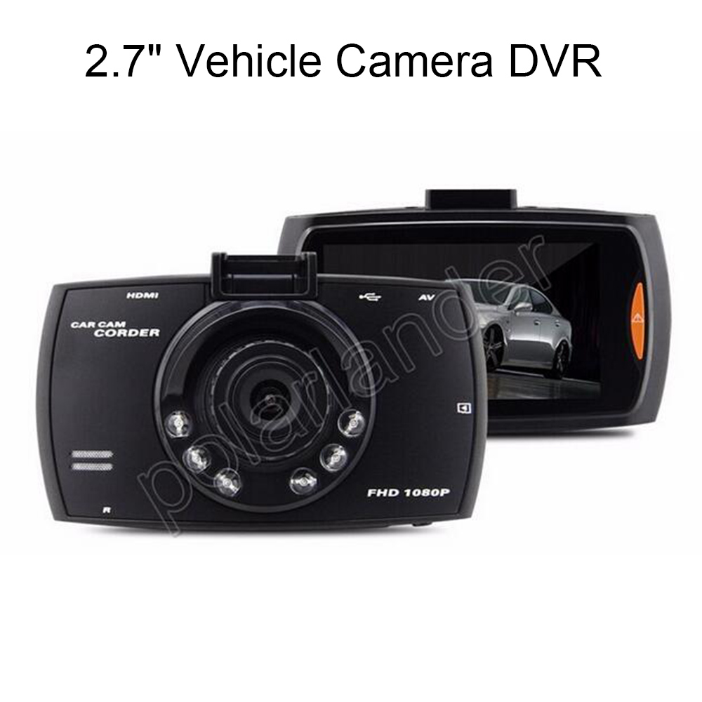 New Promotion Car DVR 170 Degree Wide Angle Car video Recorder camcorder With Night Vision With G Sensor