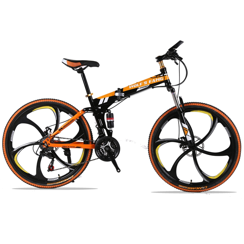 Mountain Bike 24speed 26inch Folding bike road bike Double disc brakes folding mountain bikes student bicycle bicicleta ancheer indoor folding magnetic upright exercise bike with pulse home gym cycling bike bicicleta estatica fitness equipment