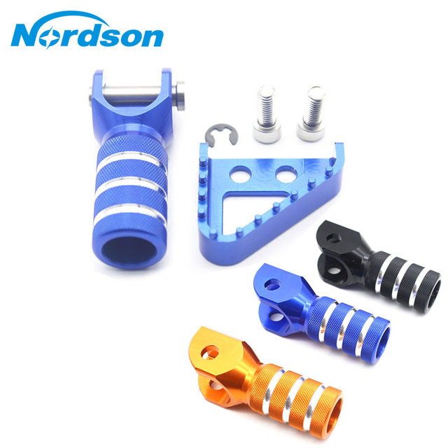 Motorcycle Billet Gear Shifter Lever Tip Rear Brake Pedal Step Tips For KTM SX EXC XCF XC XCW SXF EXCF SMR LC4 Enduro 125 250