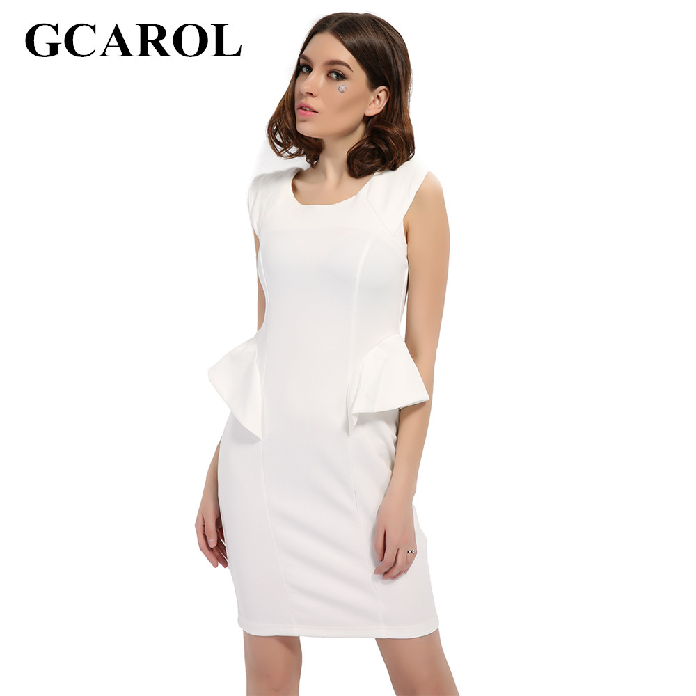 Online Get Cheap White Peplum Dress -Aliexpress.com | Alibaba Group