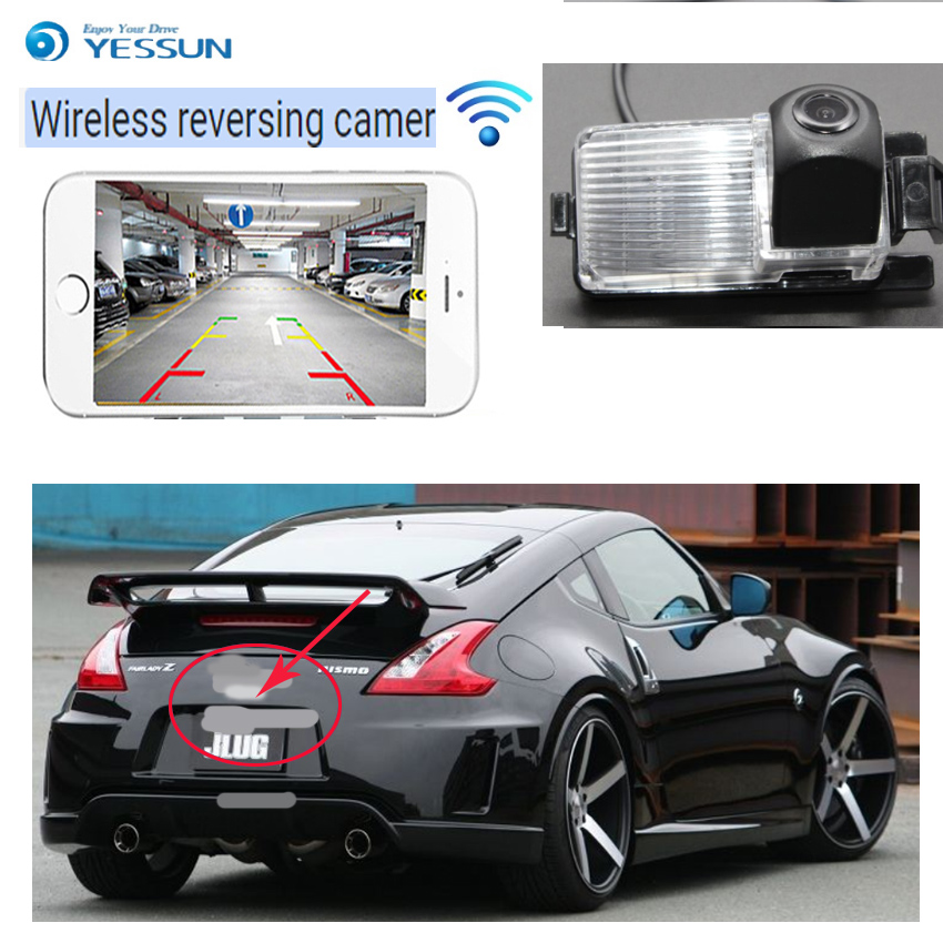 YESSUN car wireless Rear view Camera For Nissan Livina L10 L11 Grand Livina 2006~2019 HD CCD Night Vision Reverse CameraYESSUN car wireless Rear view Camera For Nissan Livina L10 L11 Grand Livina 2006~2019 HD CCD Night Vision Reverse Camera