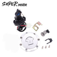 Lgnition Start Switch Fuel Tank Cover Helmet Seat Lock Stet Add Keys For Honda CBR600 CBR929 954 250 CBR1100XX ST1300 Motorcycle