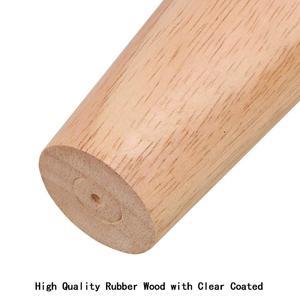"""Image 5 - 4.7 """"أثاث من الخشب المصمت أرجل الأريكة مجموعة M8 بولت البلوط مدبب استبدال أريكة مقعد كرسي طاولة القهوة خزانة الساق مجموعة من 4"""
