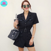 suit casual jumpsuit Solid