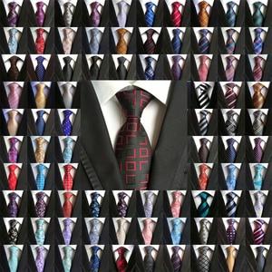 Image 1 - Wholesale (20 pieces / Lot ) Classic 100% Silk Mens Ties Neck Ties 8cm Paisley Ties for Men Business Wedding Party Gravatas