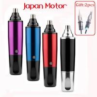 RCA Tattoo Machine Japan Motor Cartridge Tattoo Pen Shader&Liner Assorted Rotary Tattoo Machine Alloy Permanent Makeup Machine