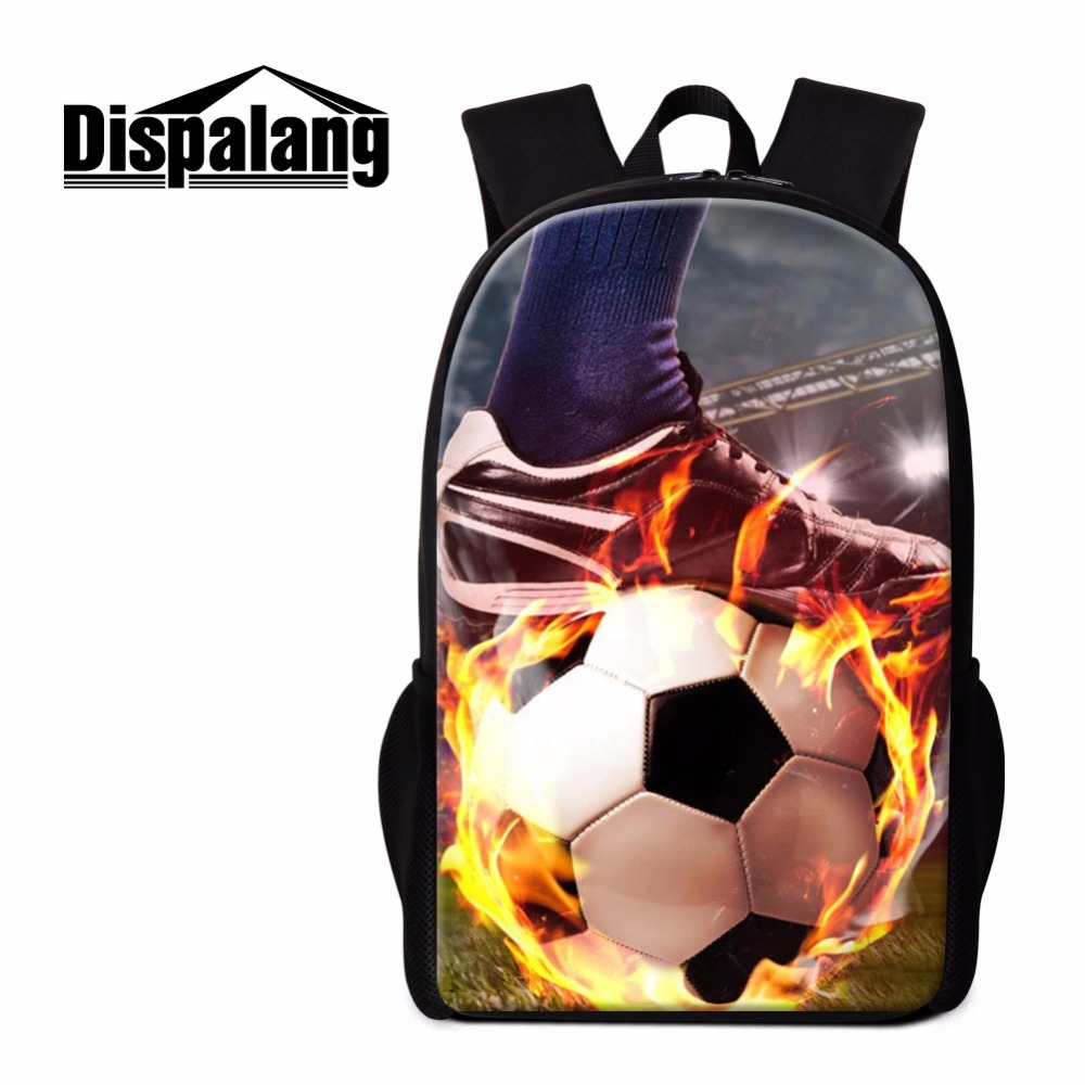Dispalang cool shoulder bags for unisex unique book bags for boy Customized school backpacks for gilr print basketballs pattern