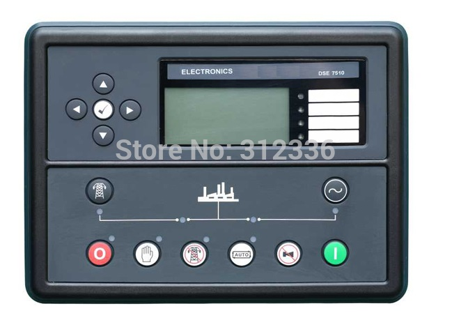 Free Shipping generator controller DSE7510 Auto Start Control Module free shipping deep sea generator set controller module p5110 generator control panel replace dse5110