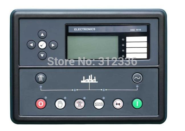 Free Shipping generator controller DSE7510 Auto Start Control Module free shipping original amf25 com ap generator controller auto start control module