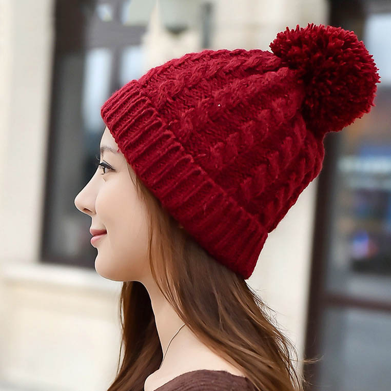 2016 New Skullies Beanies for Women Warm Winter Hats Girls ...
