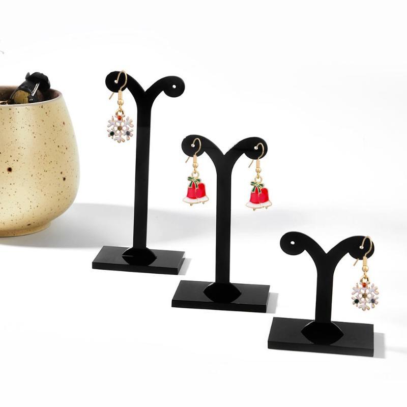 3pcs/set Earrings Display Shelf Stand Holder Jewelry Organizer Rack Leaf Pattern Stud Earrings Holder Display Stand Jewelry Rack