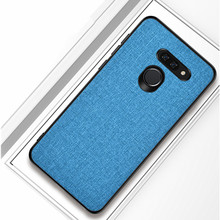 For LG G8 ThinQ case G8 Two Camera Fiber Case Anti-knock Soft TPU Silicone protective case Coque For LG G8 ThinQ Phone Cover ostin mj6q3c g8