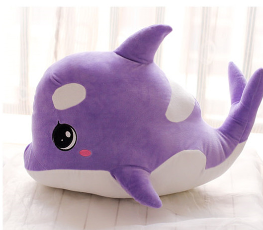 Cute Whale Soft Plush Toy Doll Kids Stuffed Sea Fish Animal Toys 3 Sizes Soft Brinquedos Home Sofa Cushion 5pcs lot pikachu plush toys 14cm pokemon go pikachu plush toy doll soft stuffed animals toys brinquedos gifts for kids children