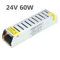AC110 220V To DC24V 60W 100W 120W 150W 200W Power Supply Driver Adapter Transformer Switch For