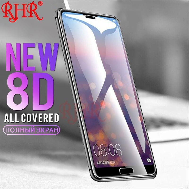שומרי משפט 8D מלא כיסוי מזג זכוכית עבור Huawei P8 P9 P10 P20 לייט P20 פרו מסך מגן סרט עבור Huawei mate 8 9 10 לייט זכוכית