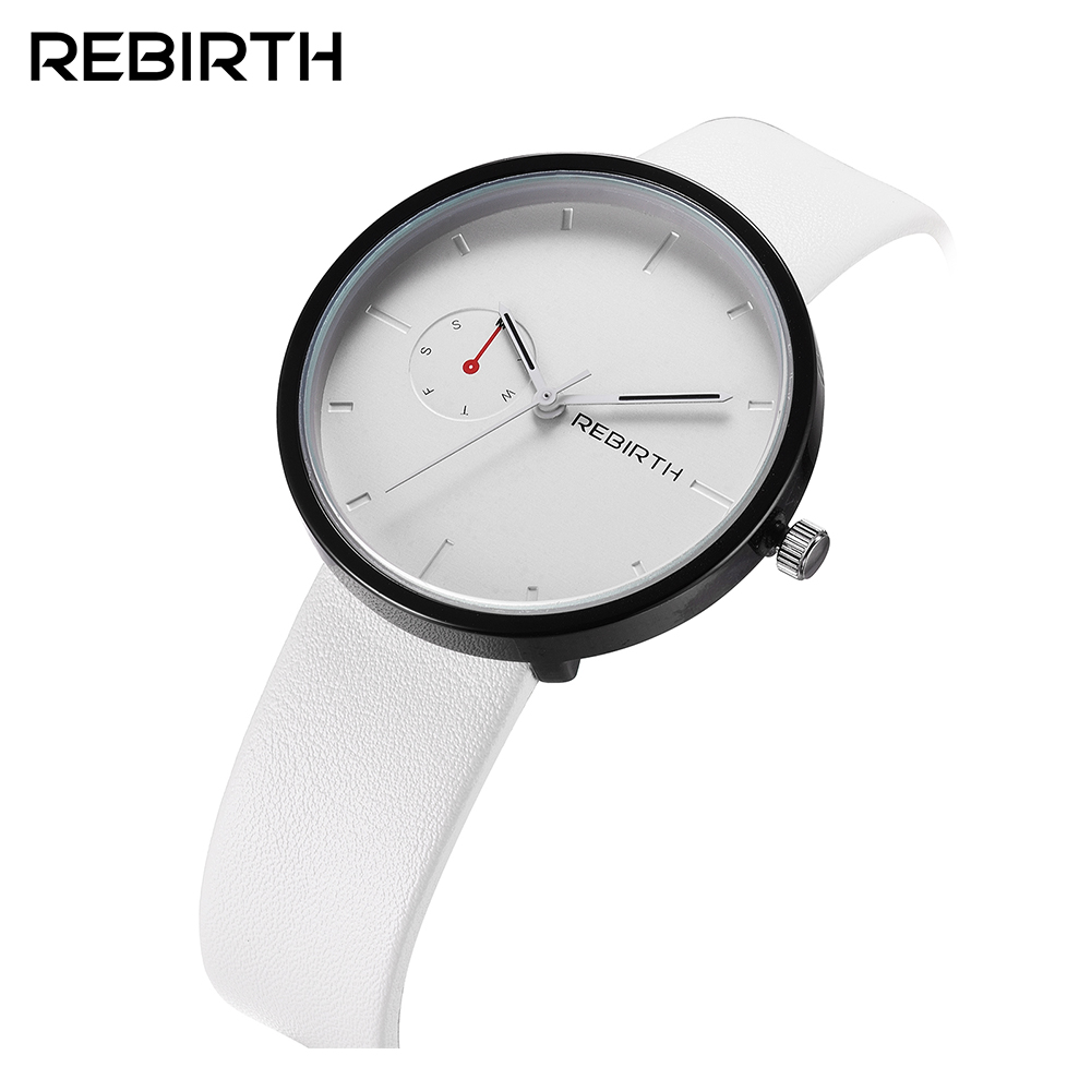 REBIRTH Fashion Man Women Luxury Lover Lady Casual Clock Male Female Stylish Business Military Wrist Quartz Sport Watch 003A 360 degree rotational car mount cell phone holder white black