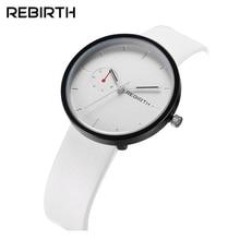 REBIRTH Fashion Man Women Luxury Lover Lady Casual Clock Male Female Stylish Business Military Wrist Quartz Sport Watch 003A