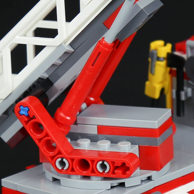 Lepin 02054 Genuine City Series The Fire Ladder Truck Set Legoing
