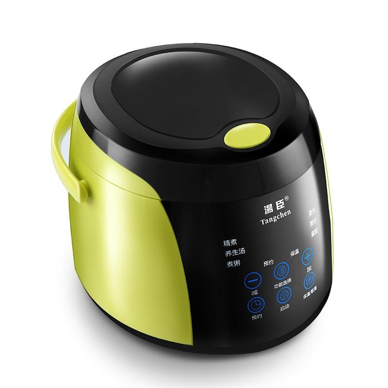Nouveau mini cuiseur à riz 2L en acier inoxydable cuiseur à riz bébé cuisinier sécurité portable cuiseur électrique récipient à riz appareils de cuisson