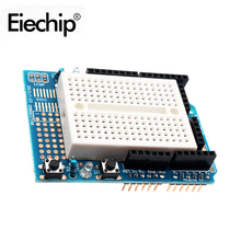 1pcs/lot Smart Electronics For Arduino UNO Proto Shield prototype expansion board with SYB-170 mini breadboard based ProtoShield