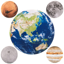 4mm waterproof The Earth Mars Jupiter Moon Circle Round Lockrand Gaming Working Personalized Mouse Mice Pad Mat 22 25 30cm mouse on mars mouse on mars glam