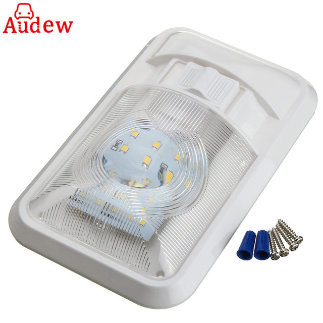 Beautiful 1Pcs White 24 LED 2835SMD Car Roof Ceiling Interior Dome Light For Camper  Car RV Boat