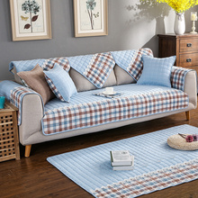 fashion jacquard sofa cover slipcovers cotton fabric plaid slip-resistant sectional sofa towel Couch covers for sofa Living Room sofa cover fabric thick sectional sofa towel universal sofa cover l shape slipcovers couch sofa furniture protectors dec