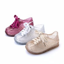 Mini Melissa Sports Shoes 2019 New Spring Flat Slip-on Kids Sandals Sneakers Breathable Girls