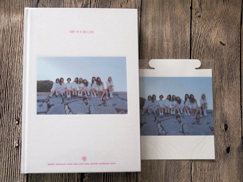 Signed Twice Autographed First Photobook One In A Million Limited
