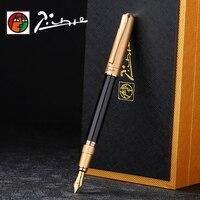 Cao Cấp Picasso Iraurita bút máy viết mực Full kim loại sang trọng ký bút dolma kalem Caneta tinteiro Văn Phòng Phẩm 1041