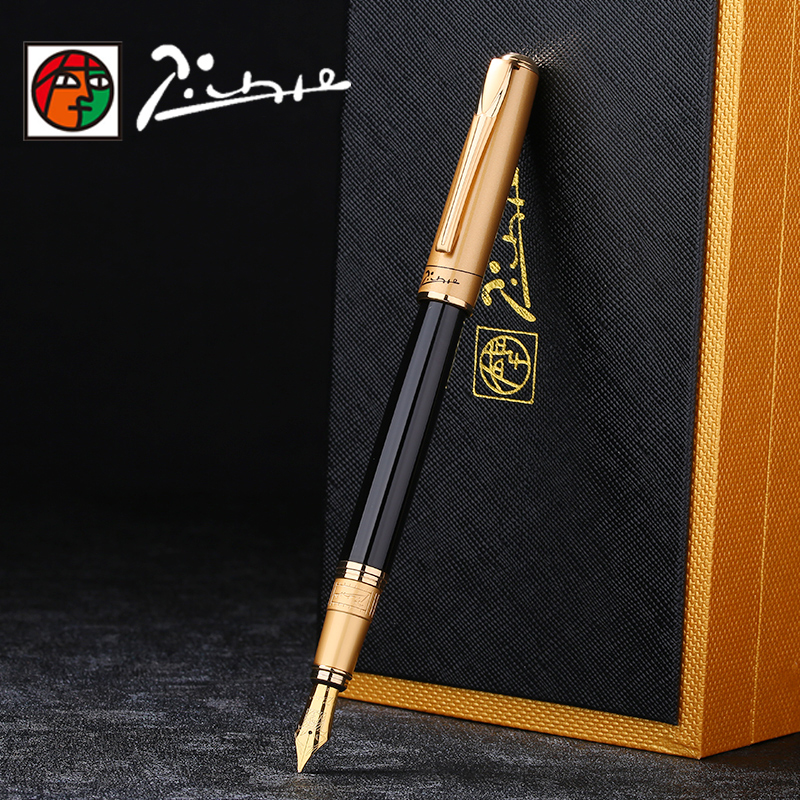 High Quality Picasso Iraurita Fountain pen ink pen full metal luxury signing pens dolma kalem Caneta tinteiro Stationery 1041 цена