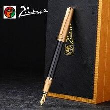 고품질 피카소 Iraurita 만년필 잉크 펜 전체 금속 럭셔리 서명 펜 dolma kalem Caneta tinteiro 편지지 1041