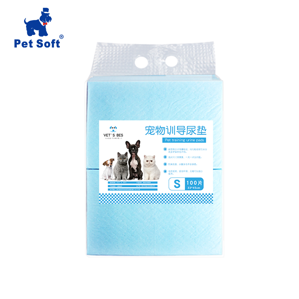 Pet Soft 100Pcs Pet Training And Puppy Pads  Super Absorbent Pet Diaper Dog Training Pee Pads Healthy Clean Wet Mat For Dog Cat