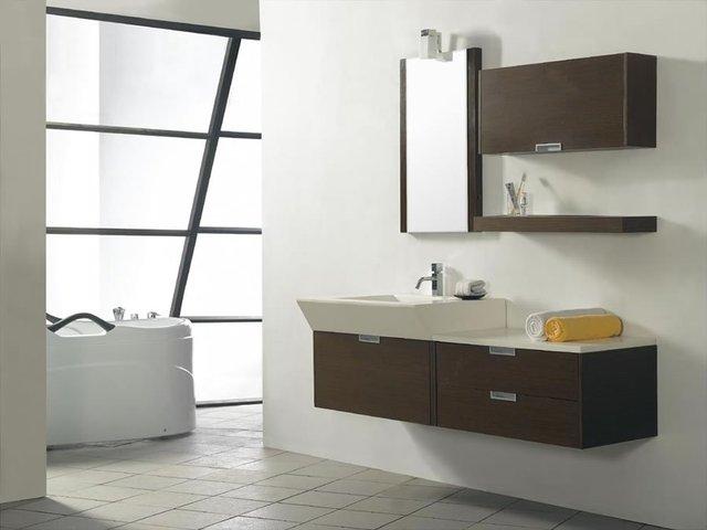 bathroom furniture wholesale new style wooden bathroom vanity solid
