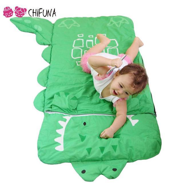 Fashion Cute 2016 Baby Boy Girls Sleeping Bag Cotton Four Cartoon Animals Pattern Children Clothing Kids Sleeping Bags