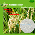 Extrato De Farelo De Arroz Natural Ingrediente Ácido Ferúlico 99% Cosméticos de Cuidados Da Pele