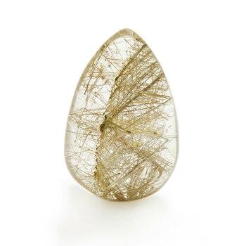1 шт. натуральный подлинный золотой ворс Рутиловый Кварц минеральная фотография домашний декор