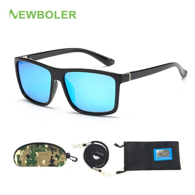 5104455d5c NEWBOLER 2018 gafas de sol polarizadas Ultri-luz de pesca gafas para hombre  al aire