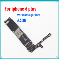 for iphone 6 Plus 5.5inch 64GB original motherboard without fingprint mainboard without Touch ID 100% tested logic board
