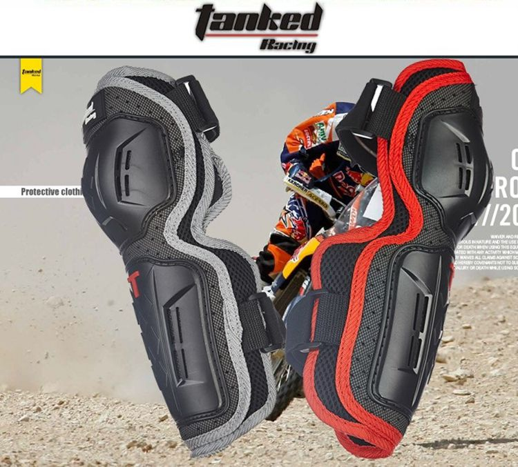 TANKED Motorcycle protective elbow KNEEPAD , warm protection knee elbow , knee protector motorcross protector 4 sets