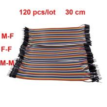 120pcs Dupont Line 30cm Male to Male +Male to Female +Female to Female 1p-1p Jumper Wire  For Orange Pi PC/Plus Raspberry Pi