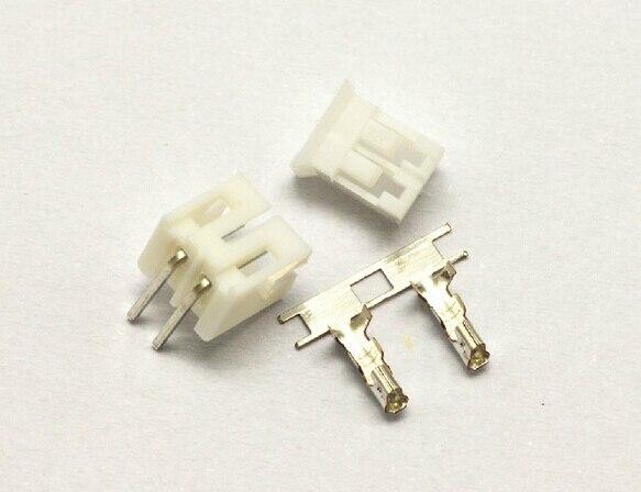 Micro JST 1.25mm C1251-R 2-Pin Female Male Connector Plug /& Crimps x 50 Sets