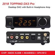 Придет DX3 Pro Hi-Fi DAC USB Bluetooth 5,0 усилитель для наушников аудио декодер XMOS XU208 AK4493 DSD512 коаксиальный SPDIF USB усилитель DAC